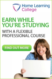 Study at home and earn while you're learning a new career